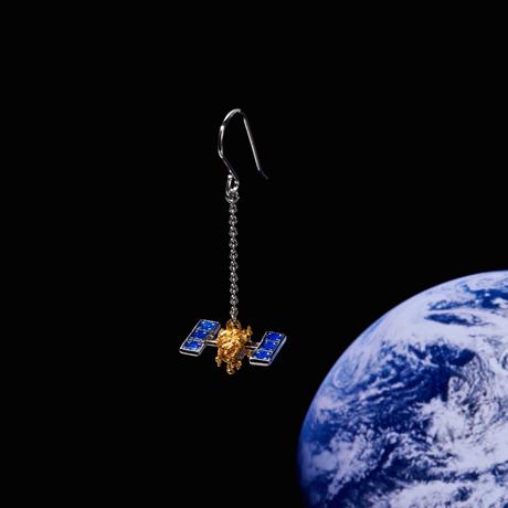 《小惑星探査機 はやぶさ2 》ピアス